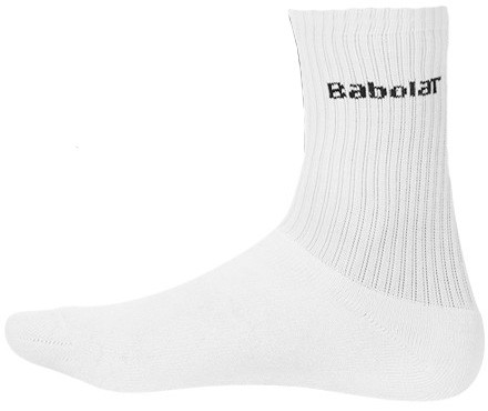 Babolat Ponožky Team Single bílé - 1 pár 35/38