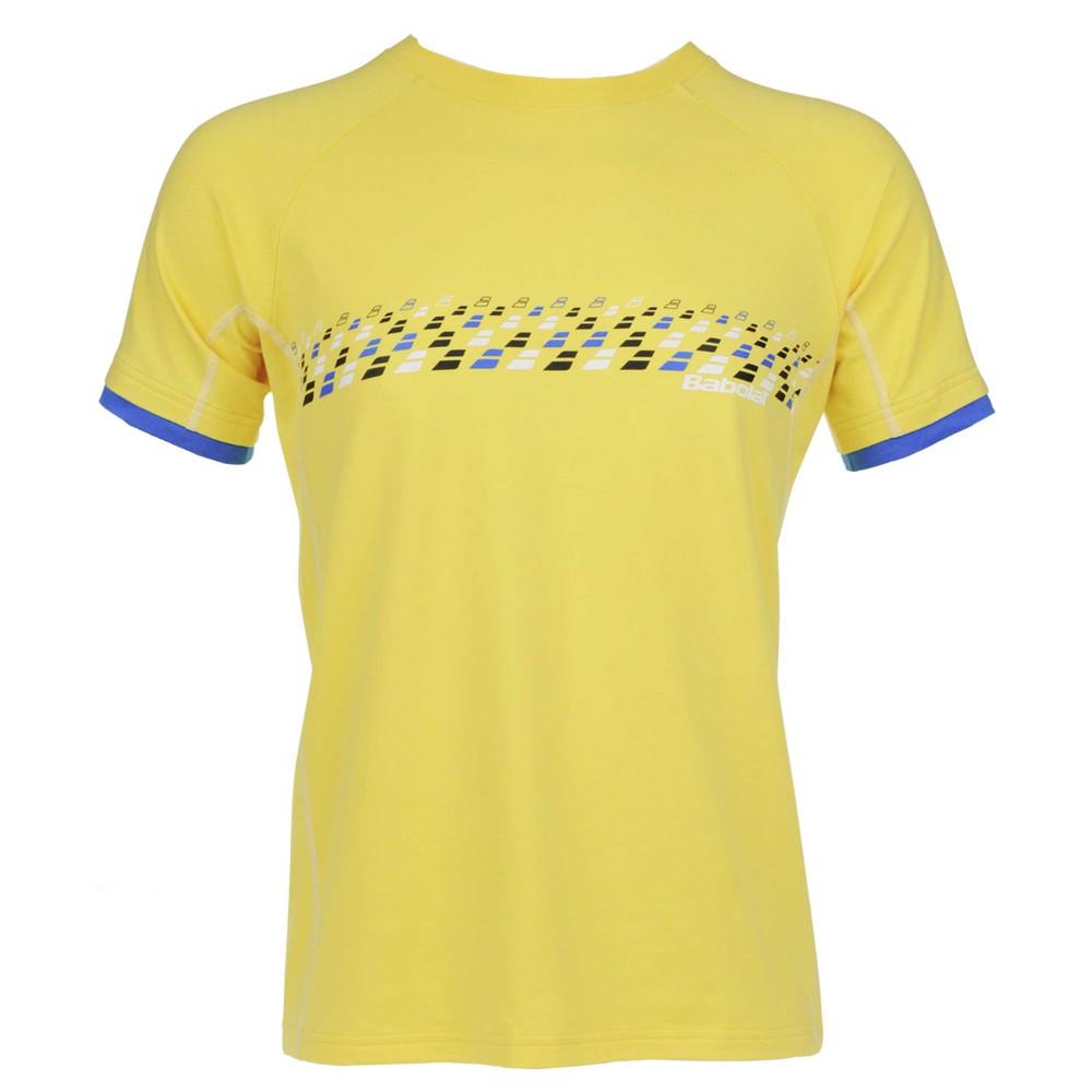 Babolat Training Men T-Shirt Essential Yellow M