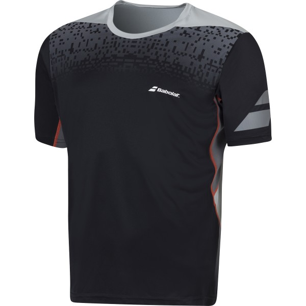 Babolat Crew Tee Boy Performance Black 2016 140