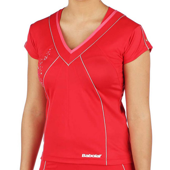 Babolat Polo Women Performance Red 2011/2012 XS