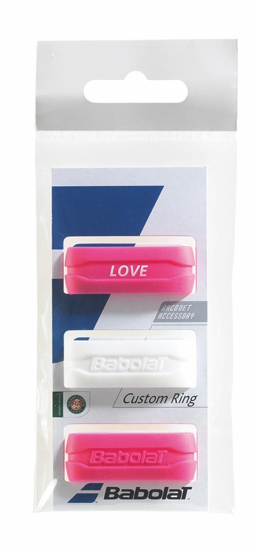 Babolat Custom Ring X3 White&Pink