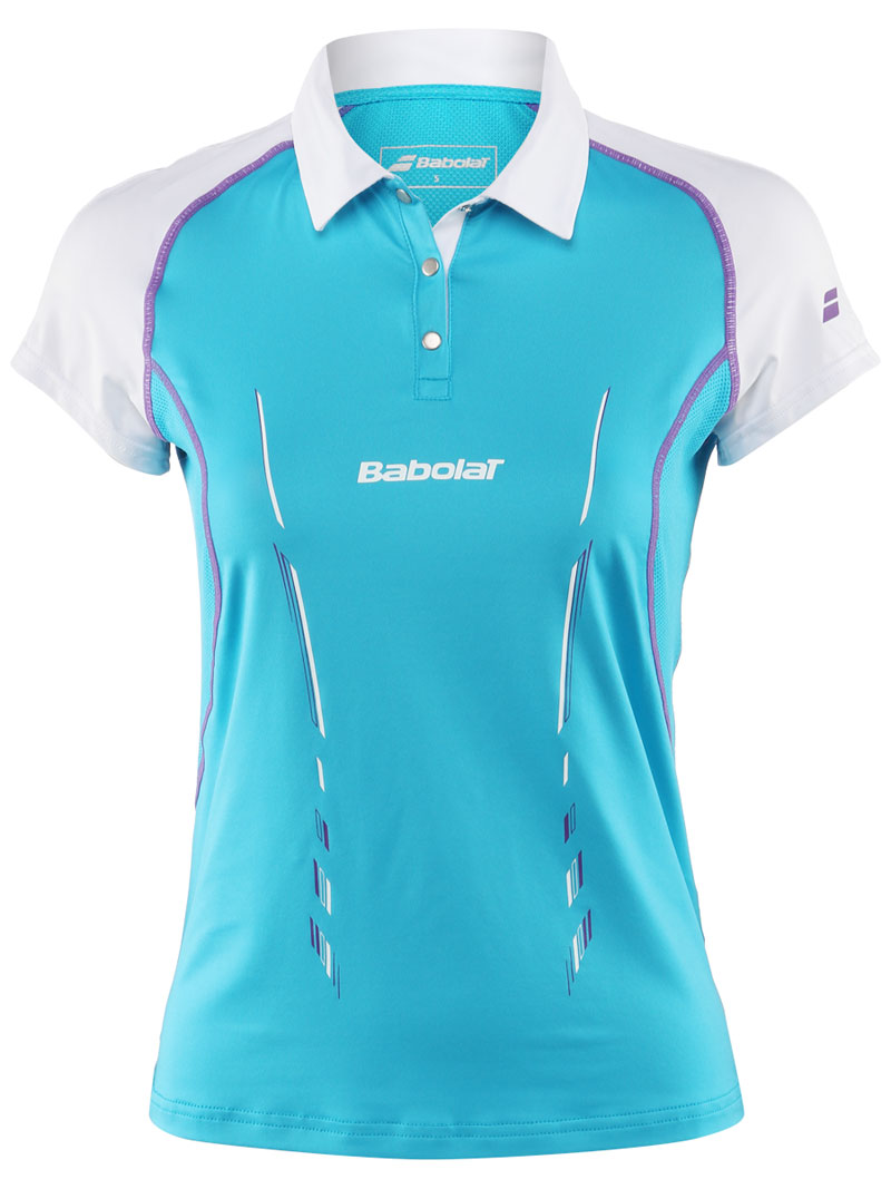 Babolat Polo Women Match Performance Blue 2014 XS