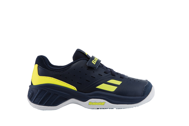Babolat Pulsion All Court Kid Blue/Yellow 2017 28