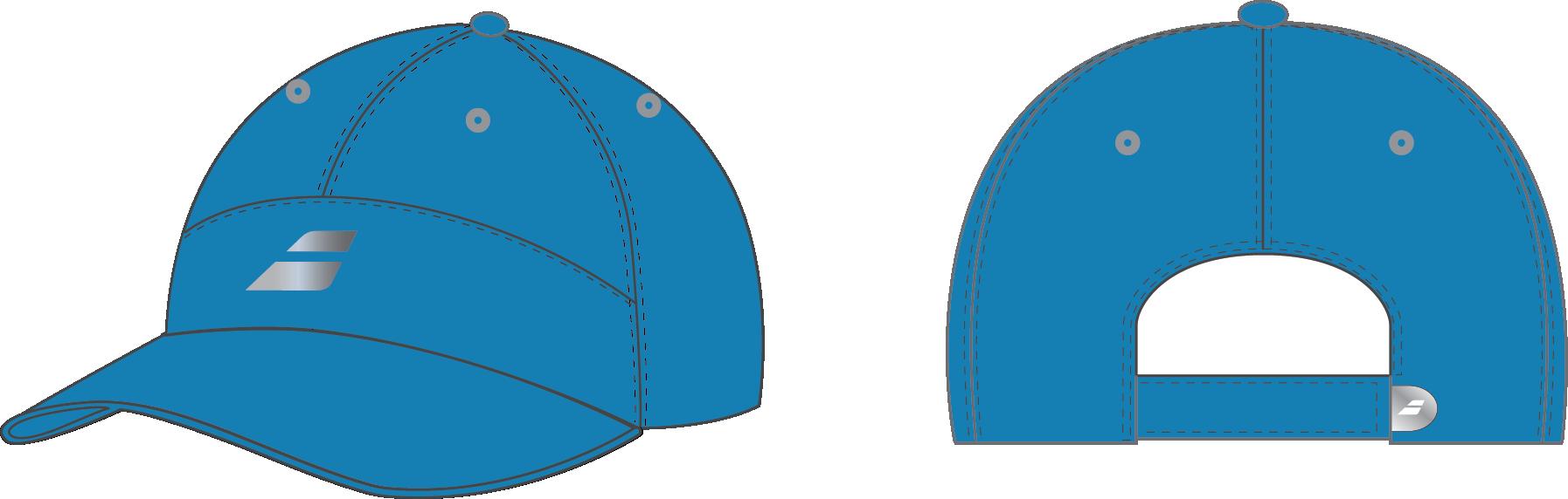 Babolat Cap Microfiber Blue 2017