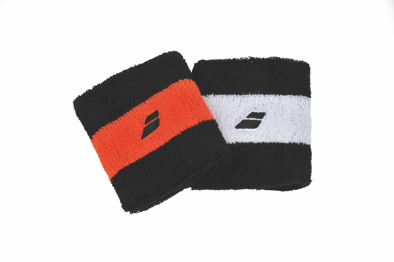 Babolat Reversible Wristband X2 Black/Orange 2014