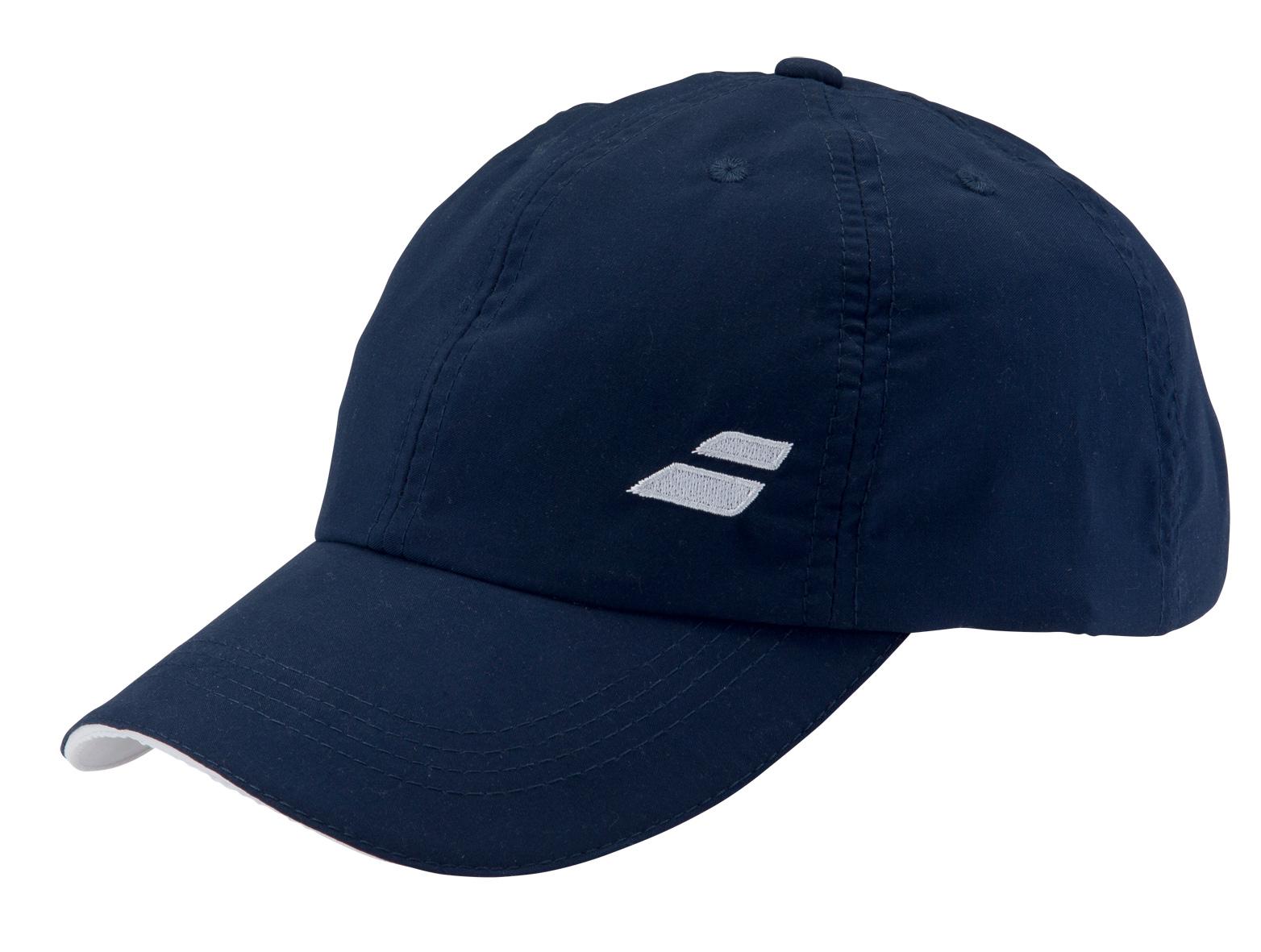 Babolat Cap Basic 2016 modrá - prodyšná čepice na tenis junior