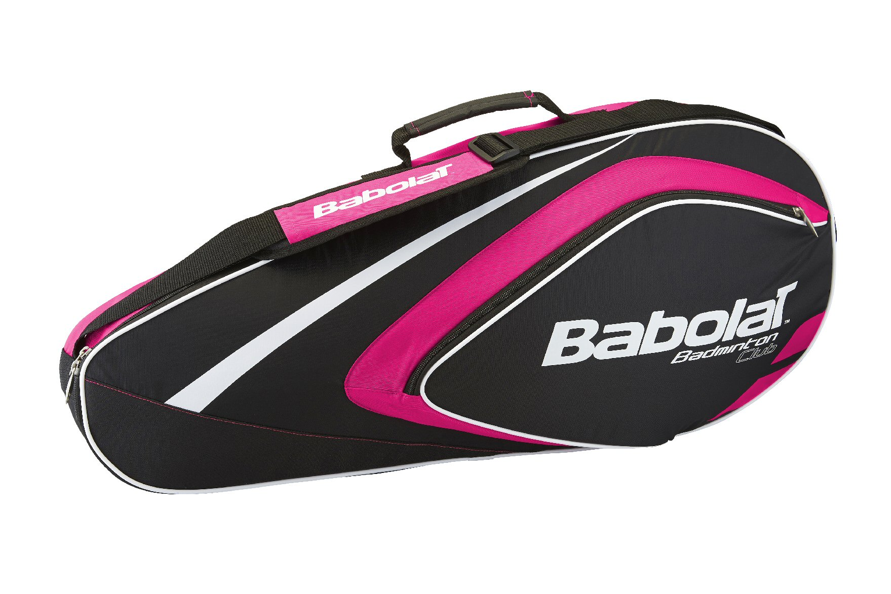Babolat Badminton Club Line Racket Holder X4 Pink 2016