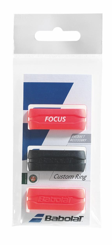 Babolat Custom Ring X3 Black&Red