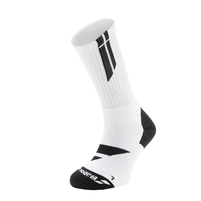 Baboolat Ponožky Team Big Logo White/Black 39/42