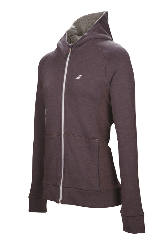 Babolat Hood Sweat Girl Core Grey 2017 128