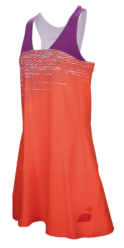 Babolat Racerback Dress Girl Performance Fluo Red 2017 128