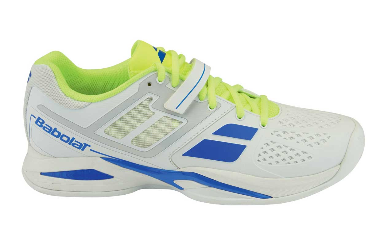 Babolat Propulse Clay Men White/Yellow 44,5