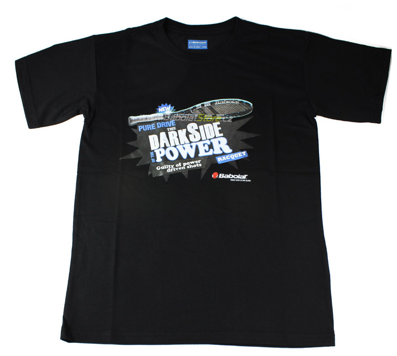 "Babolat T-Shirt Promo Pure Drive 2012 ""Dark Side Power"" XL"