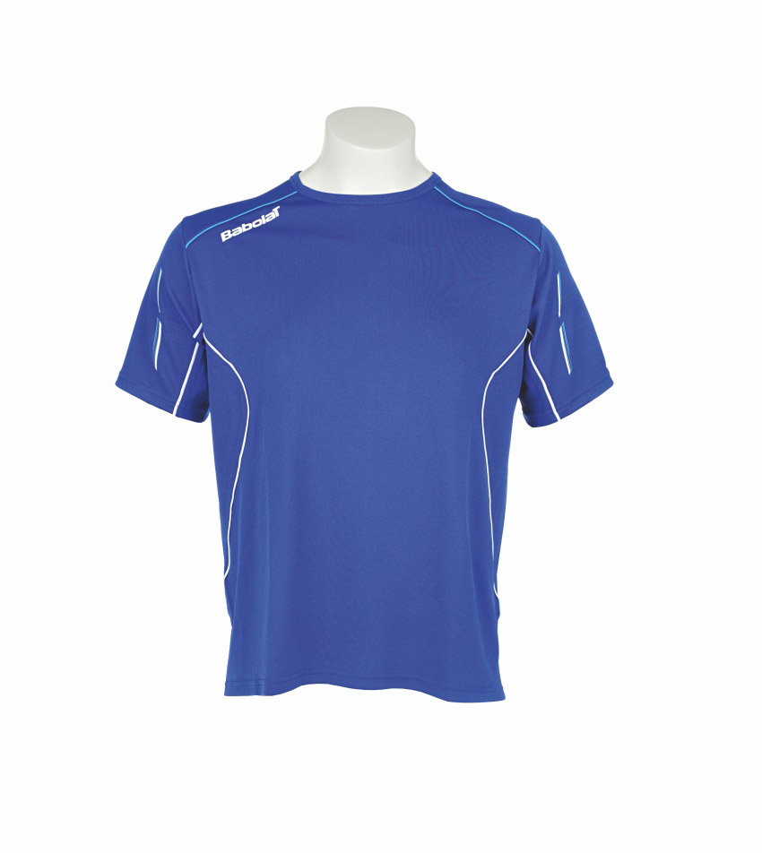 Babolat Tee-Shirt Boy Match Core Blue 2015 140