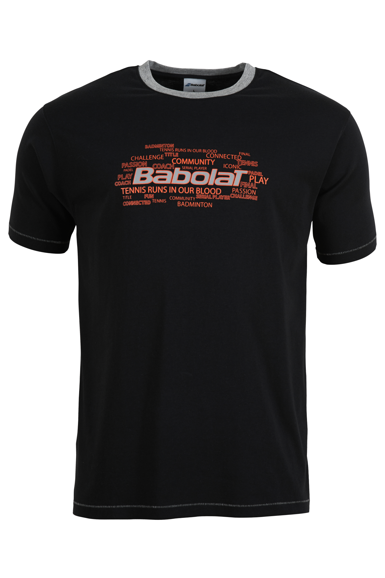 Babolat T-Shirt Boy Training Anthracite 2015 140