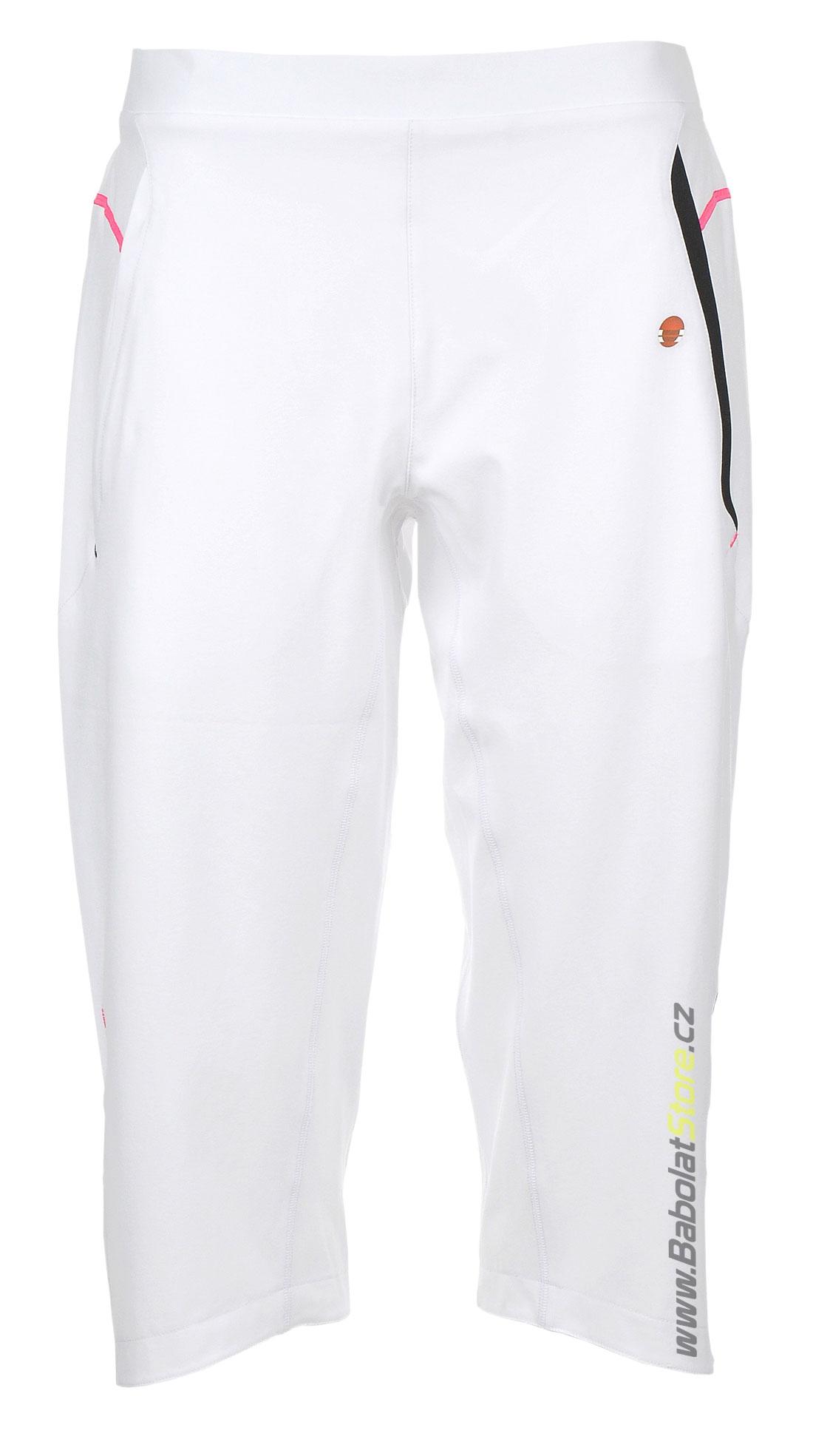 Babolat 3/4 Pant Women Performance White 2012/2013 S