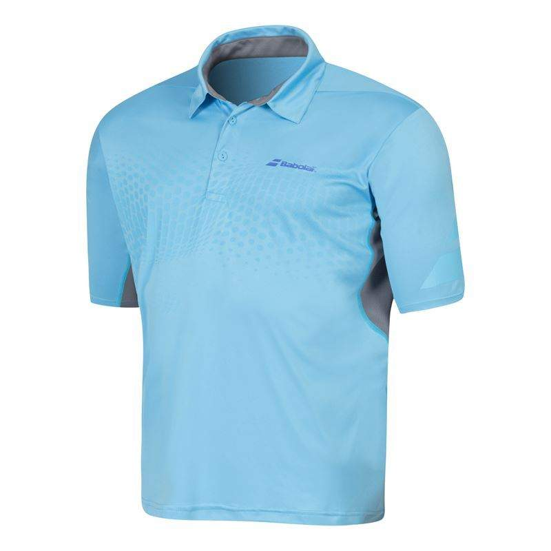 Babolat Polo Boy Performance Blue 2016 152