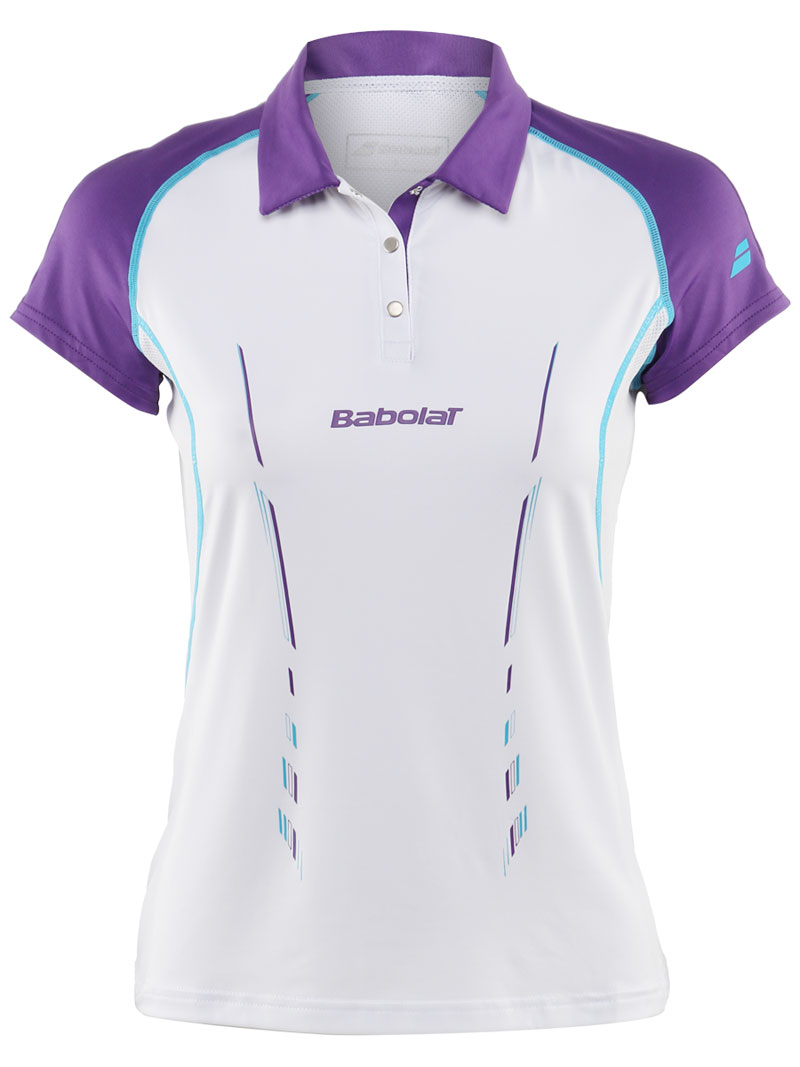 Babolat Polo Women Match Performance White 2014 L