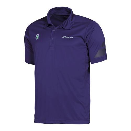 Babolat Polo Men Performance Wimbledon Purple 2016 XL