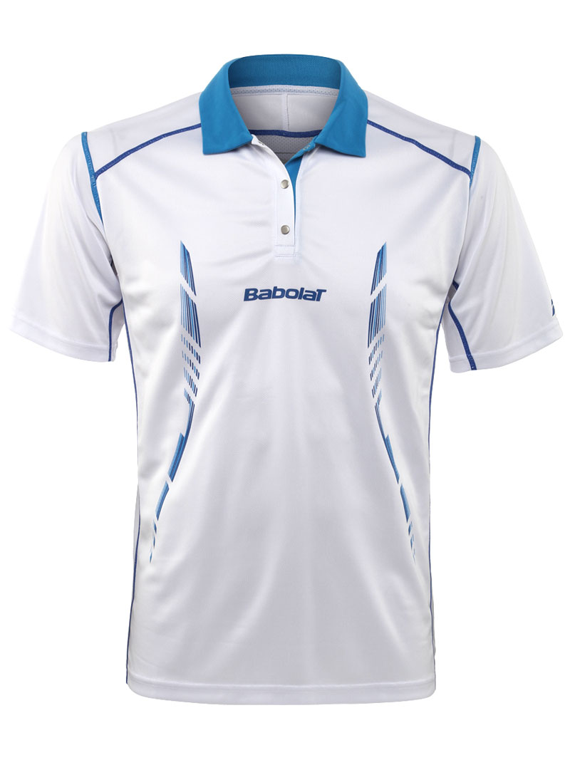 Babolat Polo Boy Match Performance White 2014 140