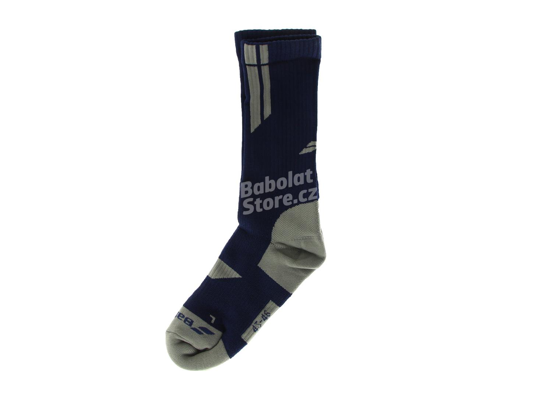 Babolat Ponožky Team Big Logo Blue 43/46