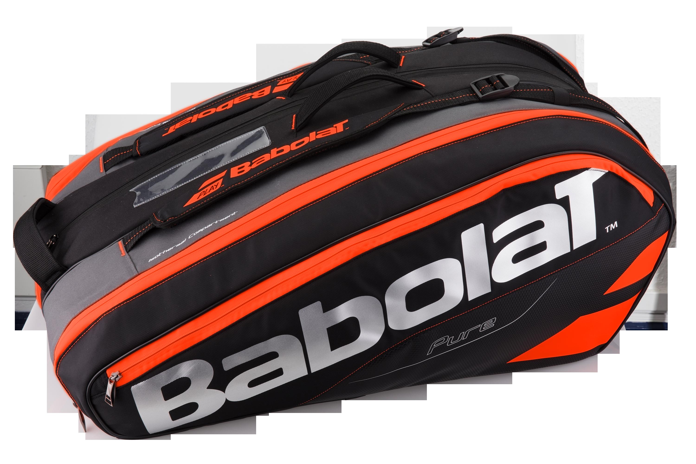 Babolat Pure Strike Racket Holder X12 Black 2017