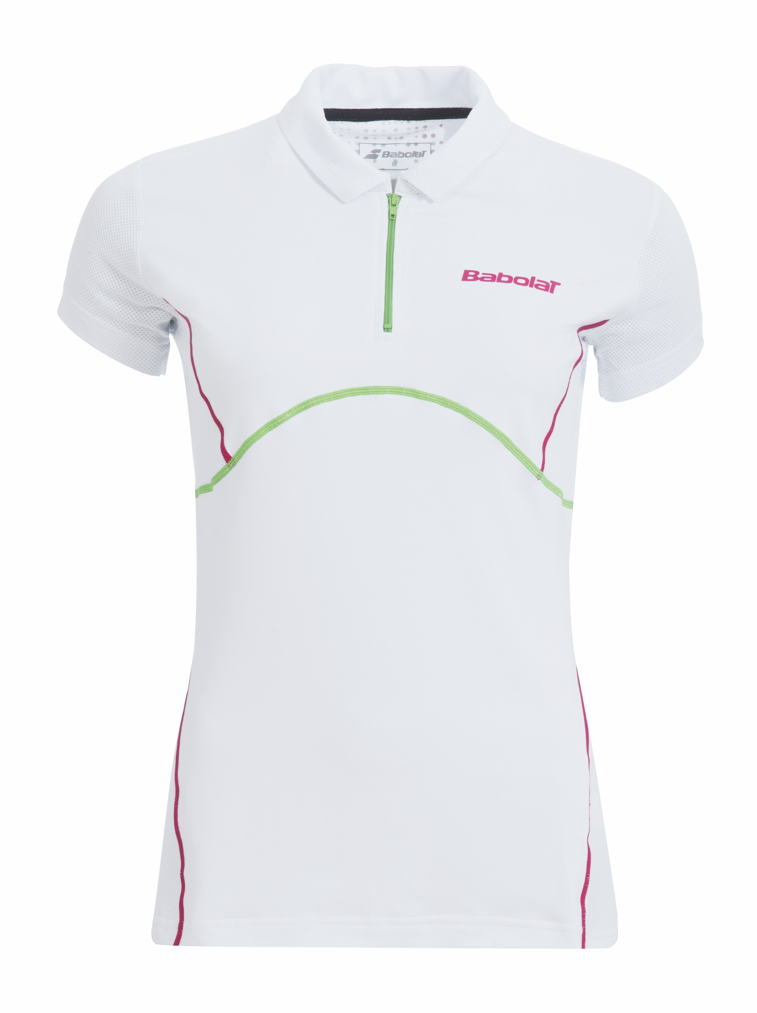 Babolat Polo Women Match Performance White 2015 M
