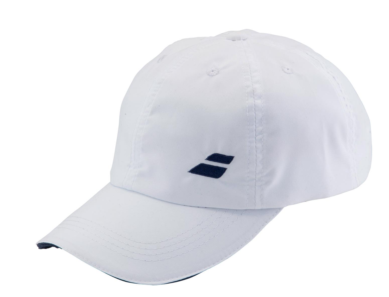 Babolat Cap Basic 2016 bílá - prodyšná čepice na tenis