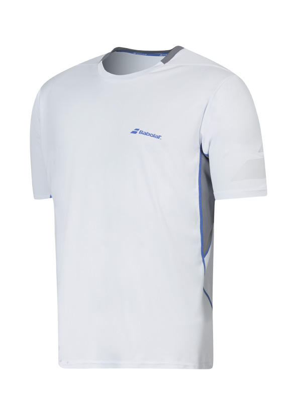 Babolat Crew Tee Boy Performance White 2016 140