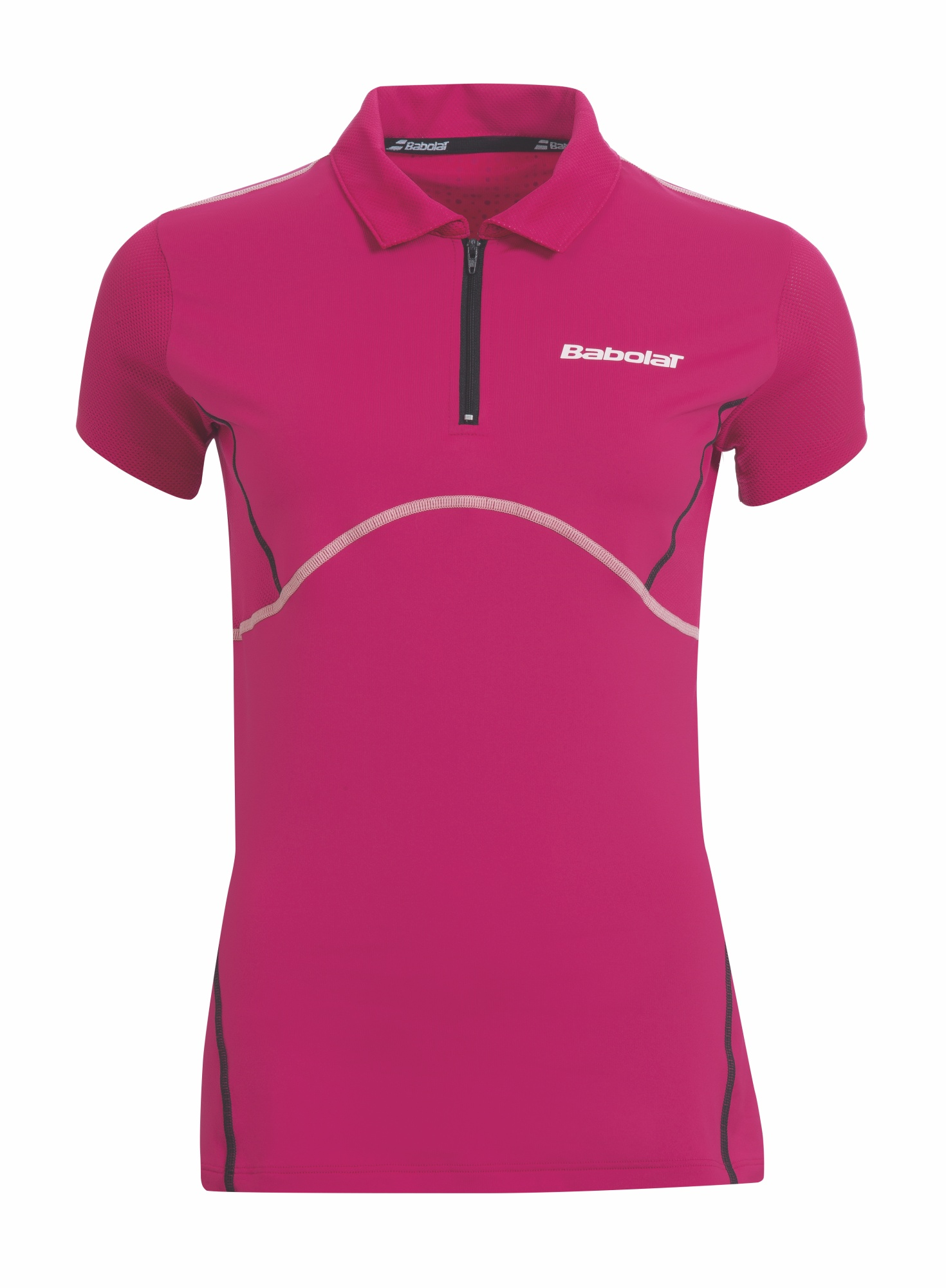 Babolat Polo Women Match Performance Cherry Red 2015 L