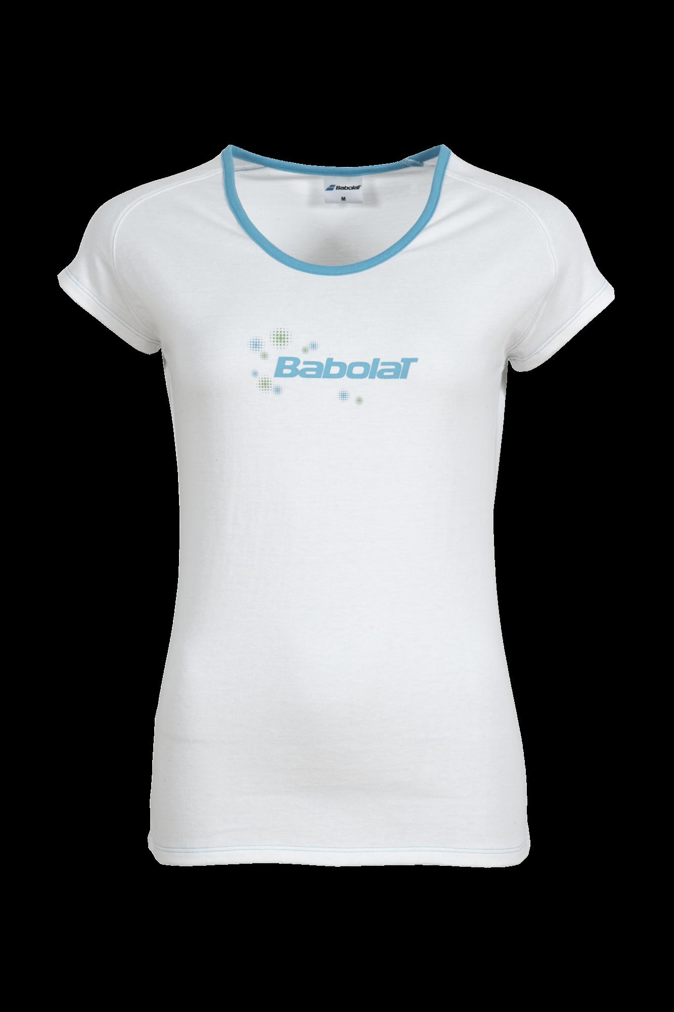 Babolat T-Shirt Girl Training Basic White 2015 140