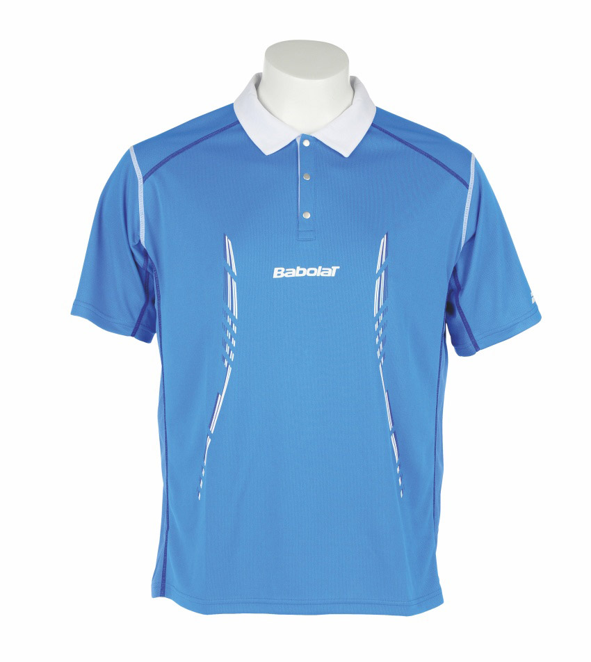 Babolat Polo Men Match Performance Blue 2014 M