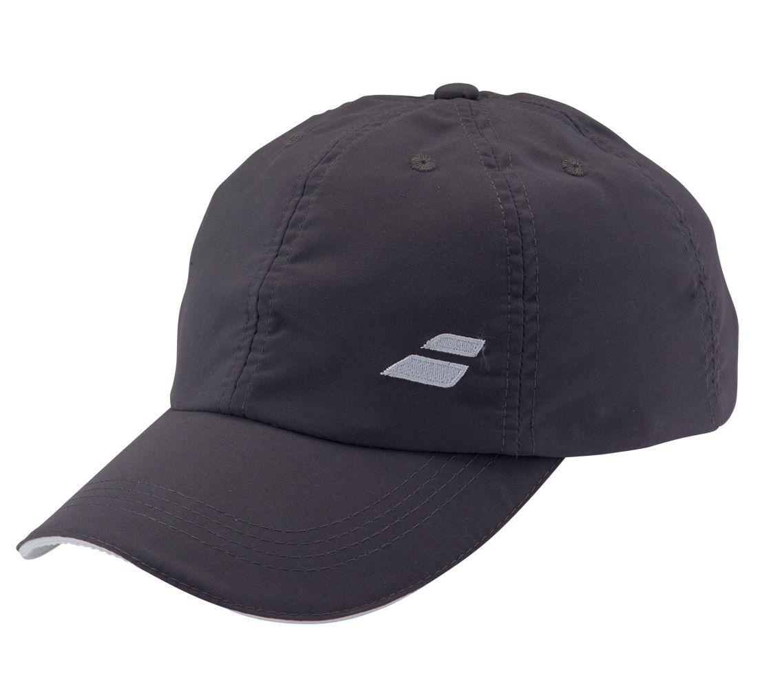 Babolat Cap Basic 2016 šedá - prodyšná čepice na tenis junior