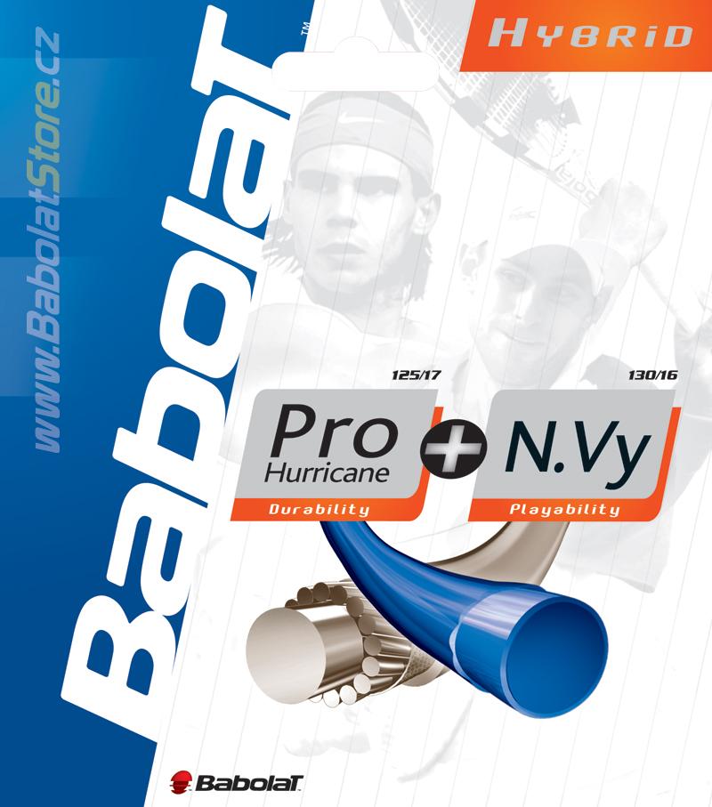Babolat Pro Hurricane 1,25 + N.Vy 1,30