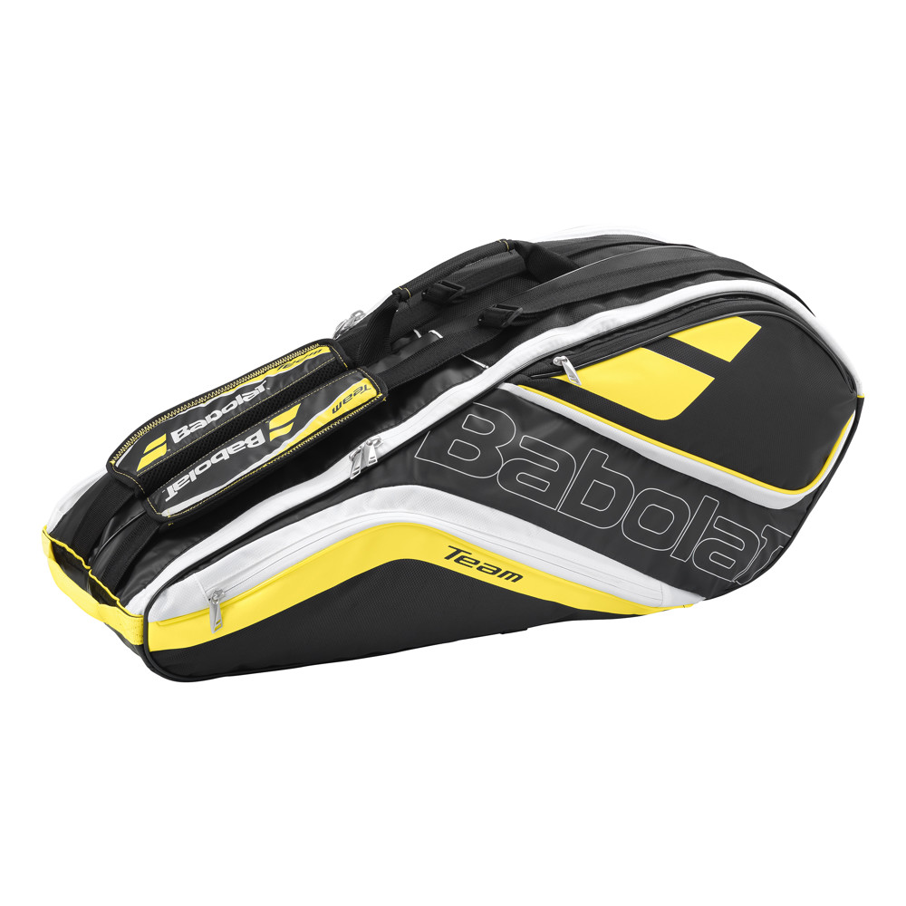Babolat Team Line Racket Holder Yellow X6 2016
