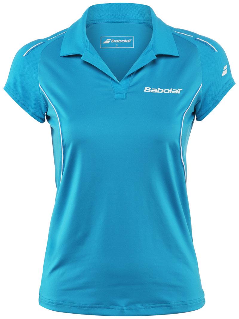 Babolat Polo Girl Match Core Blue 2015 140