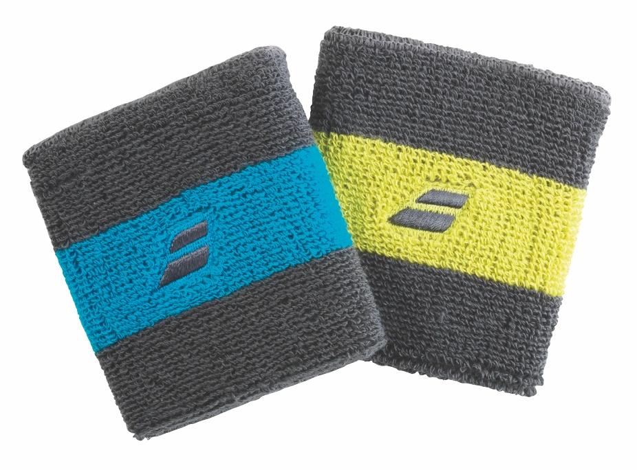 Babolat Reversible Wristband X2 Blue/Yellow 2015