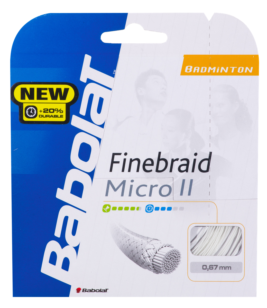 Babolat Finebraid Micro II 200m 0,67 Orange