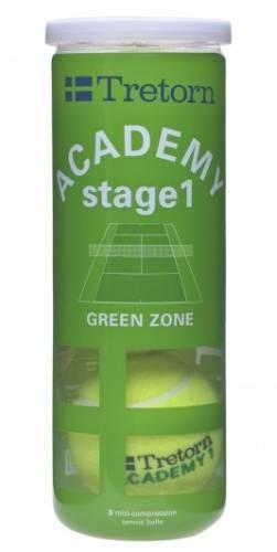 Tretorn Academy Green X3