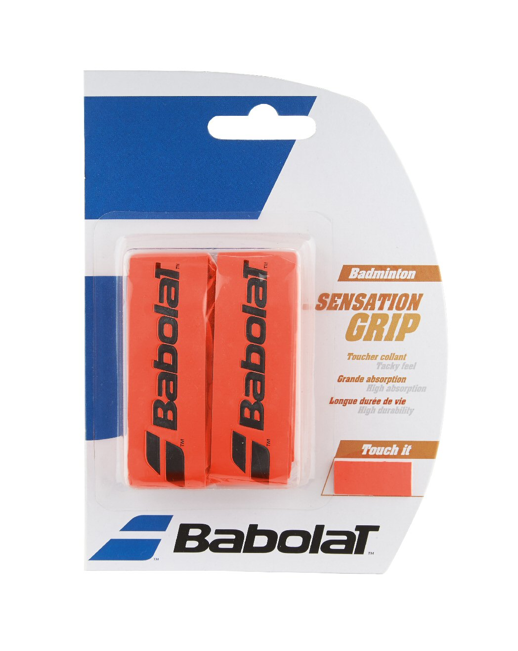 Babolat Sensation Grip X2 Fluo Red