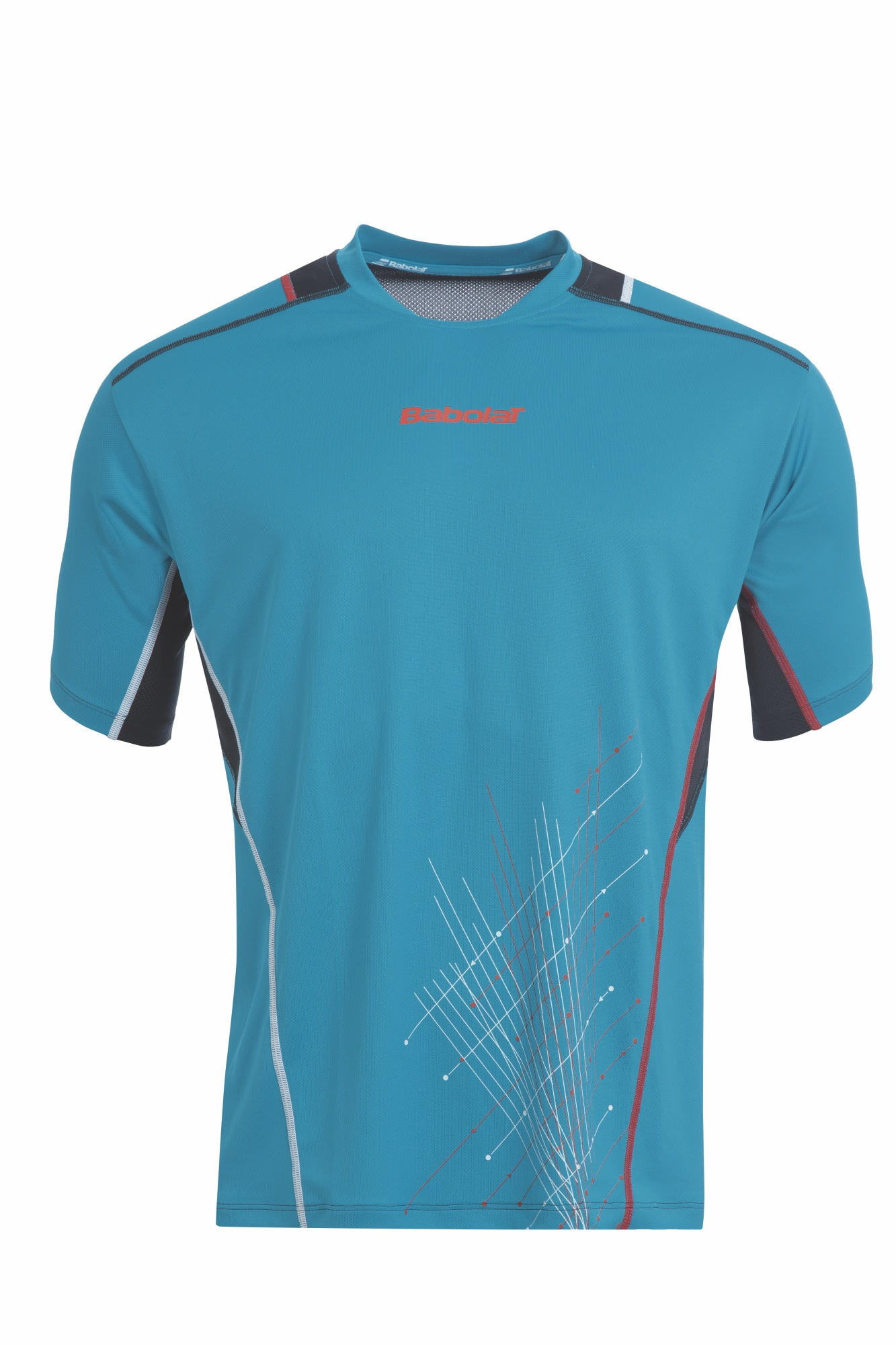 Babolat Tee-Shirt Boy Match Performance Blue 2015 140