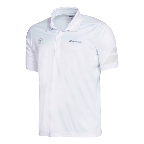Babolat Polo Men Performance Wimbledon White 2016 XL