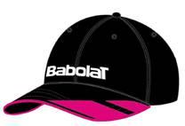 Babolat Promo Cap Black/Pink