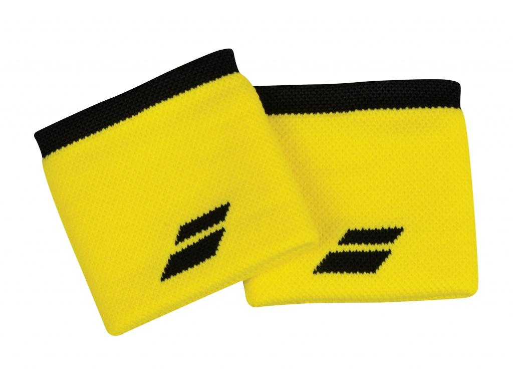 Babolat Wristband X2 Yellow-Black