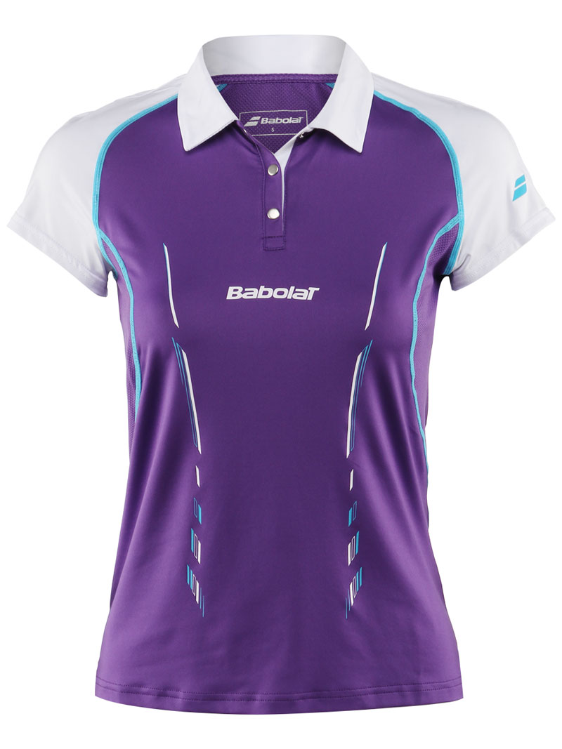 Babolat Polo Women Match Performance Purple 2014 M